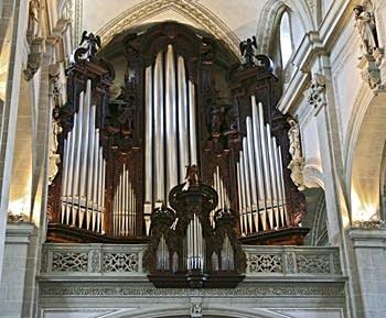 1977 Kuhn organ at the Hofkirche - St. Leodegar, Luzerne, Switzerland