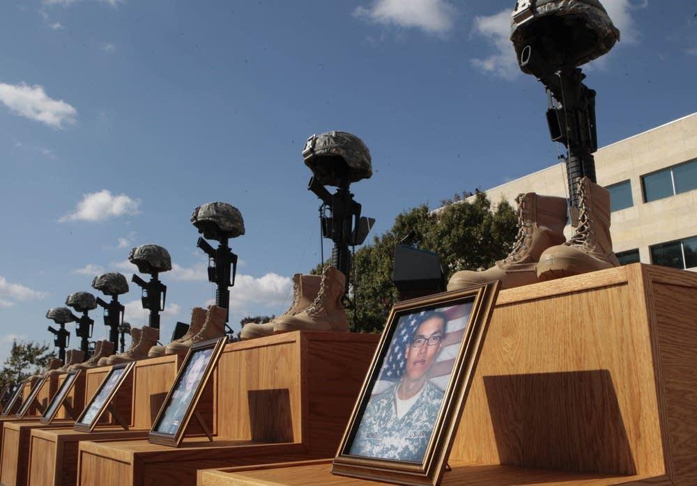 Memorial service at Fort Hood