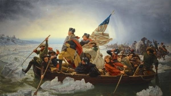 Emanuel Leutze's 'Washington Crossing the Delaware.'