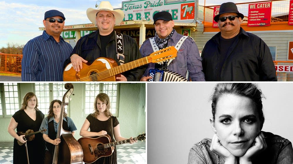 Los Texmaniacs, The Carper Family, Aoife O'Donovan