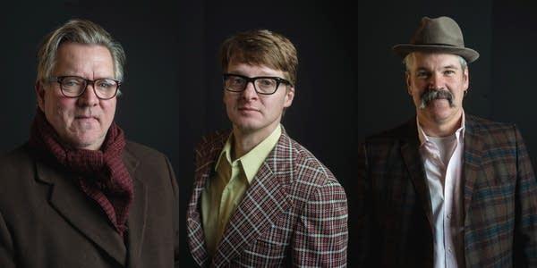 Chan Poling, Steve Roehm and John Munson