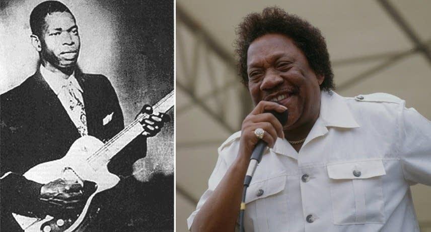 Elmore James and Bobby Bland