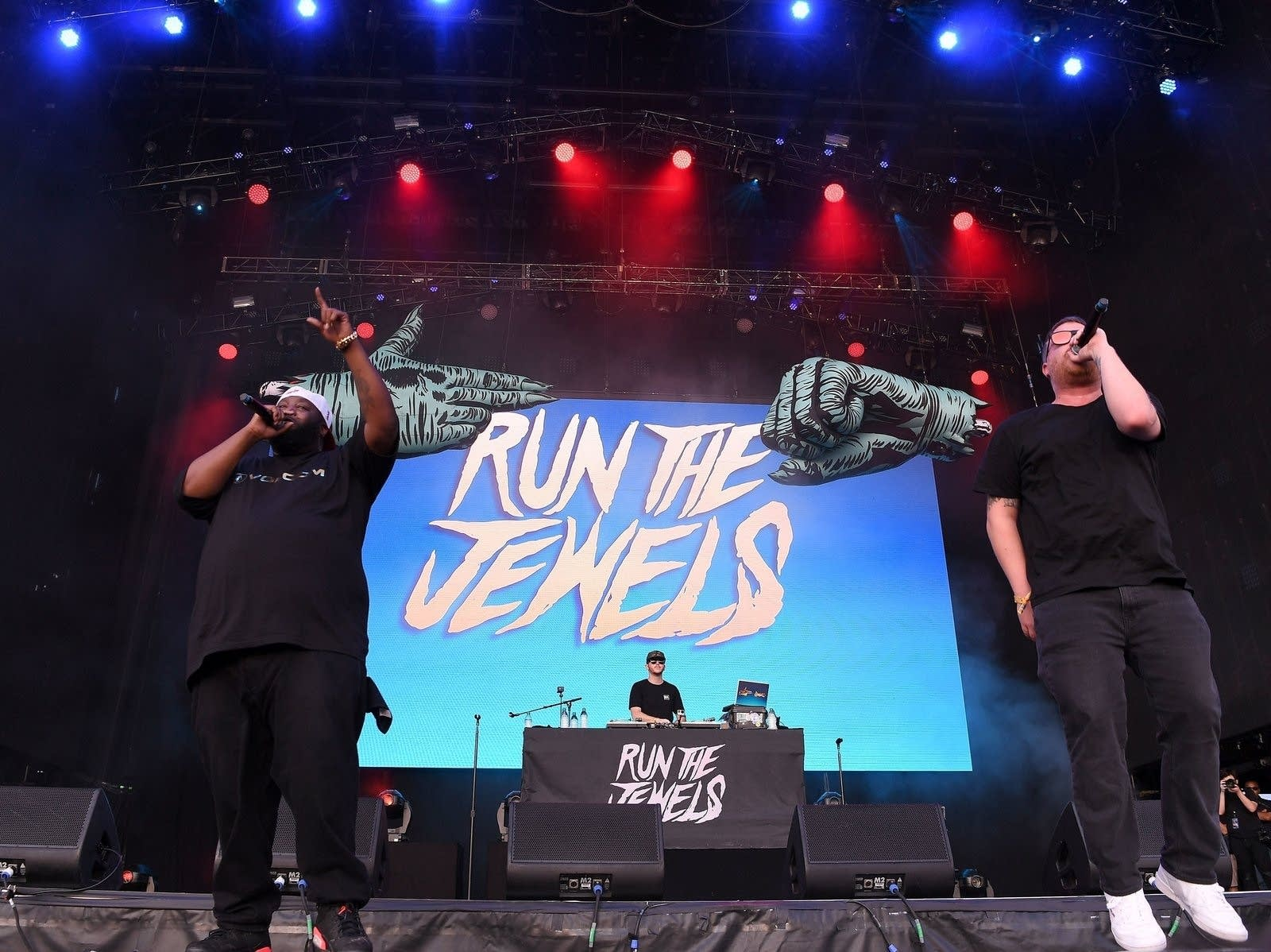Run the Jewels performing in 2017.