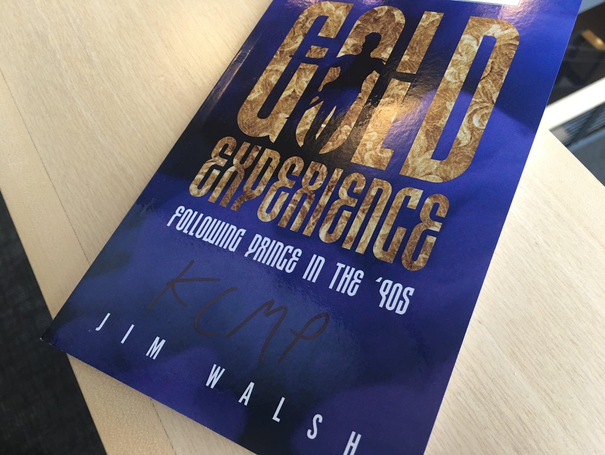 Jim Walsh's book 'Gold Experience'