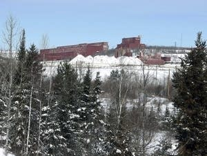 The closed LTV Steel taconite plant