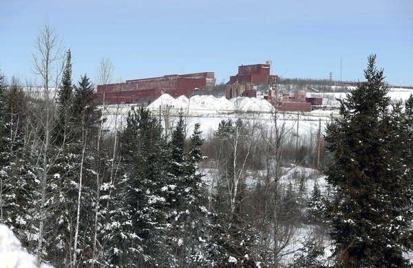 The closed LTV Steel taconite plant