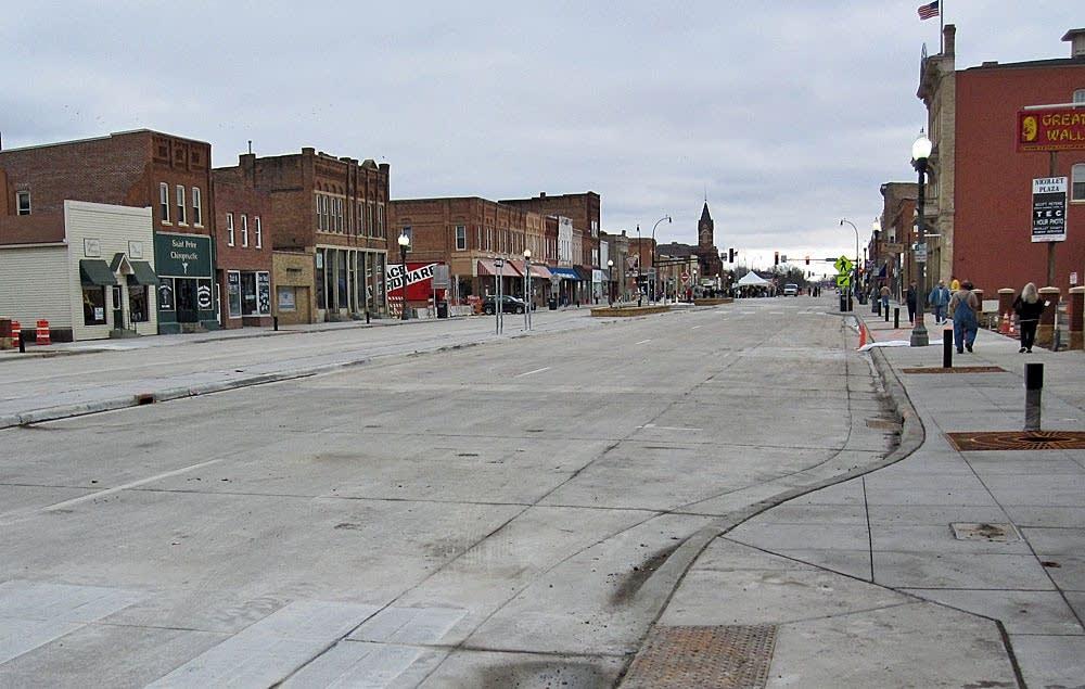 St. Peter's new main street
