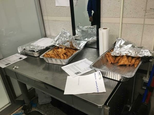 Building Blocks of Islam sent a takeout order of food to the MSP airport