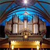1890–1991 Casavant organ in Montréal's historic Basilique de Notre Dame