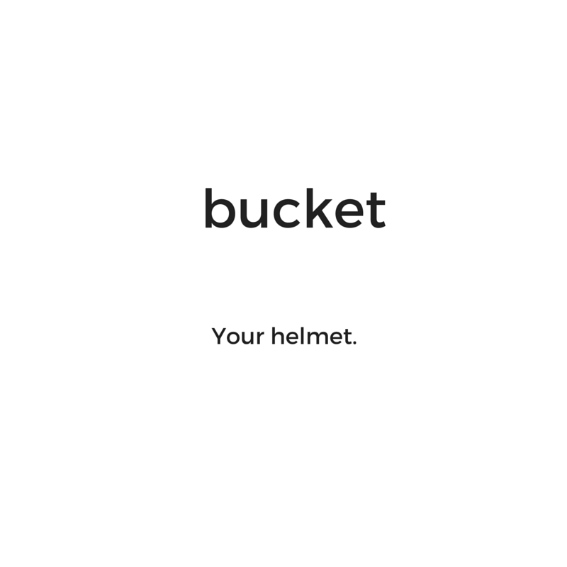 Hockey hair: What is the bucket?