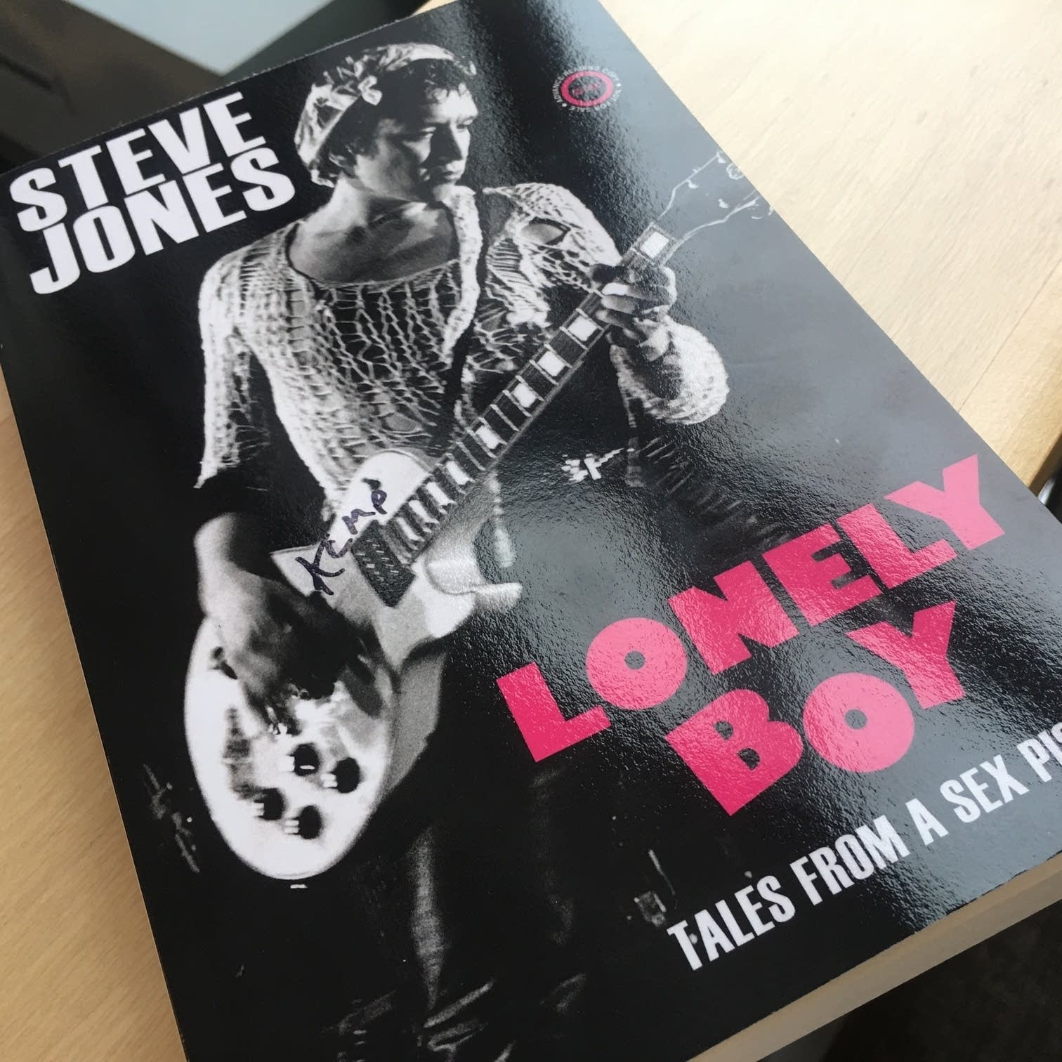 Steve Jones's 'Lonely Boy'