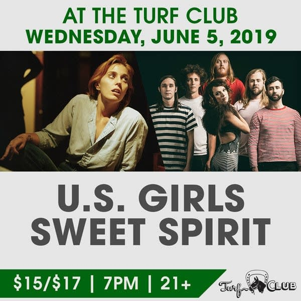 U.S. Girls Perform at the Turf Club