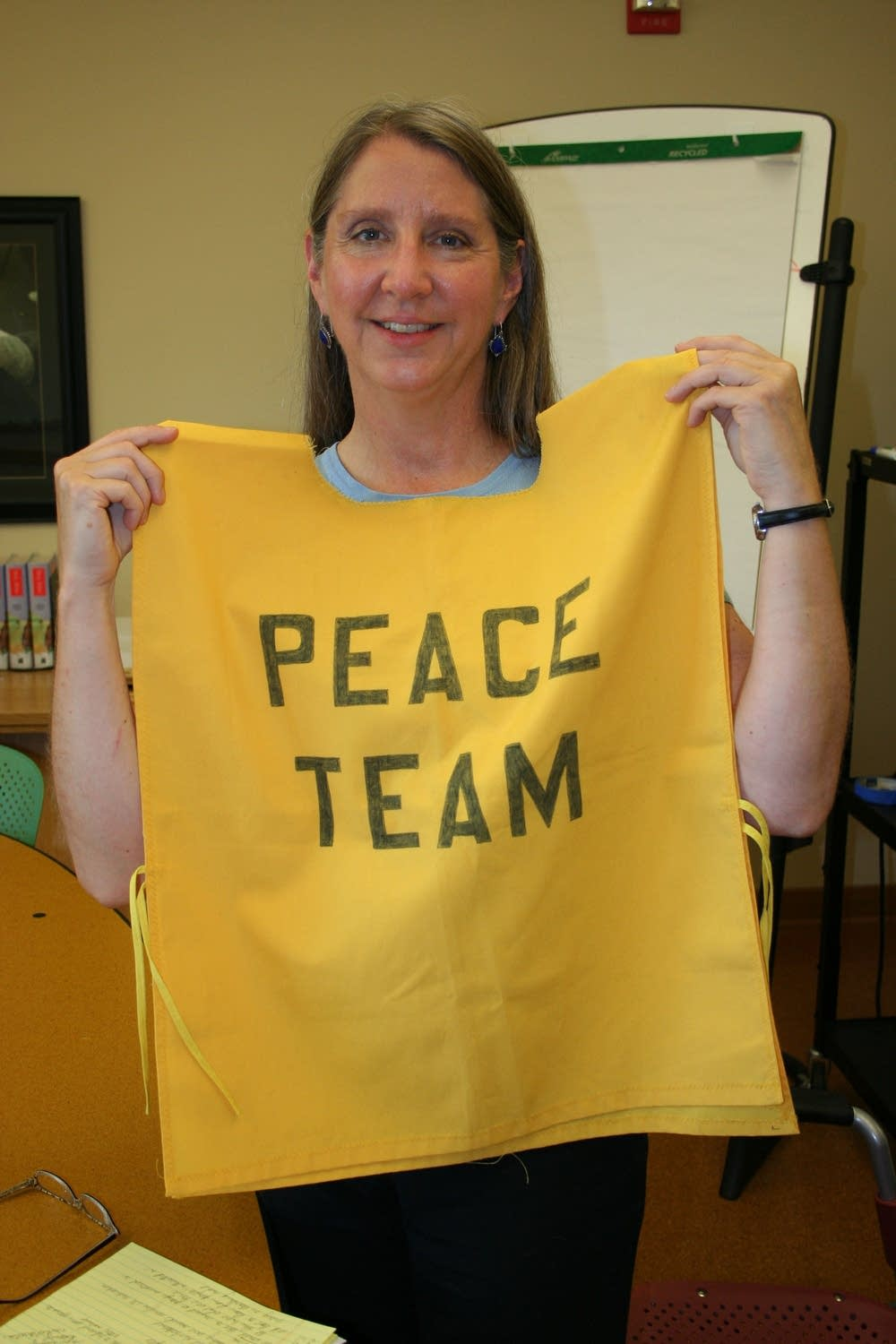 Peace team uniform