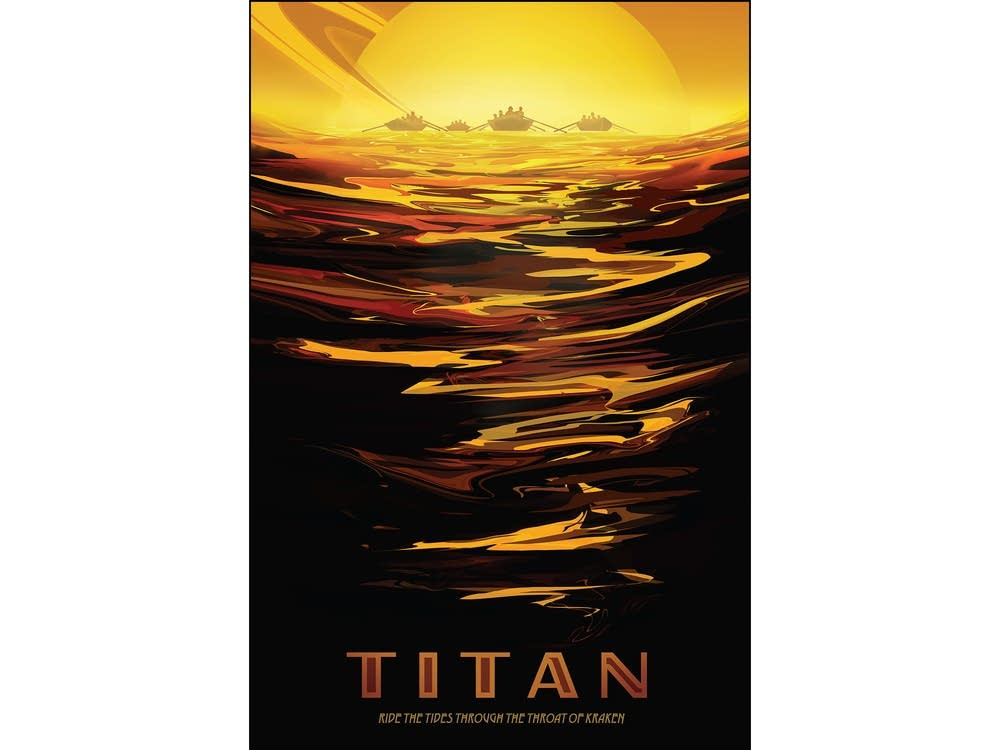 Titan: Ride the tides through the throat of Kraken