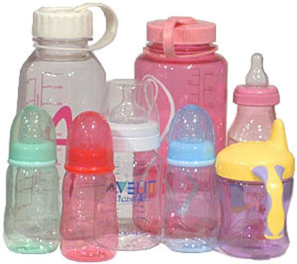 Plastics with BPA