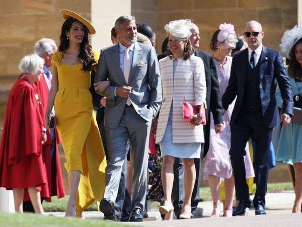Royal Wedding Guests.Royal Wedding Guests Pour Into Windsor Castle Mpr News