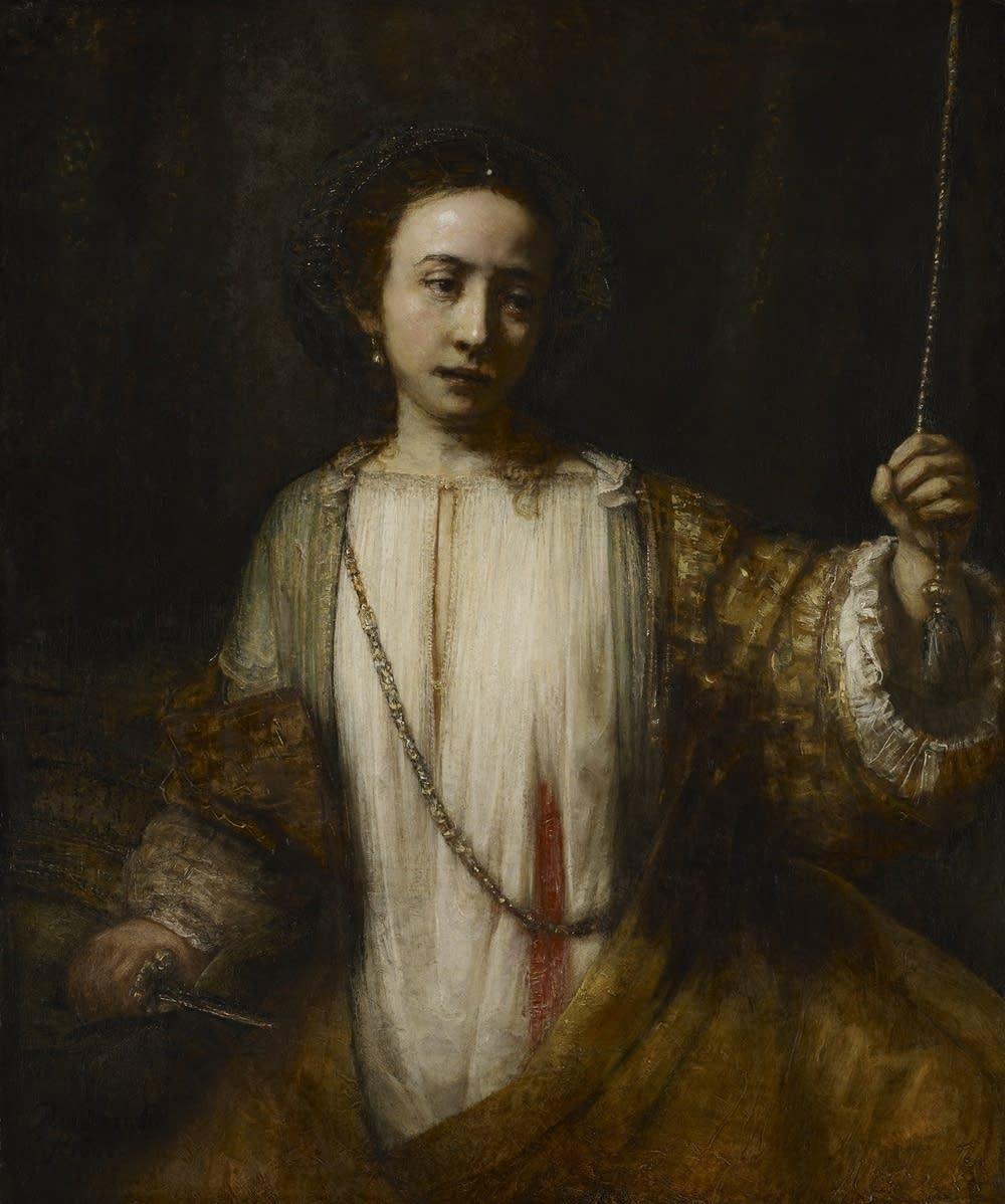 Rembrandt in America; Lucretia; 1666
