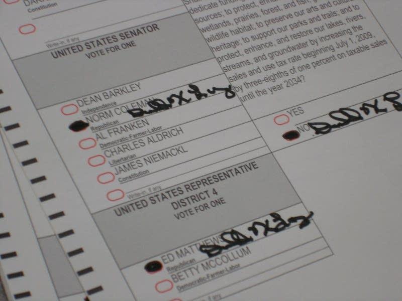 Signed ballot