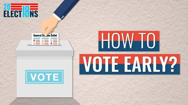 In Minnesota, early voting starts 46 days before Election Day.