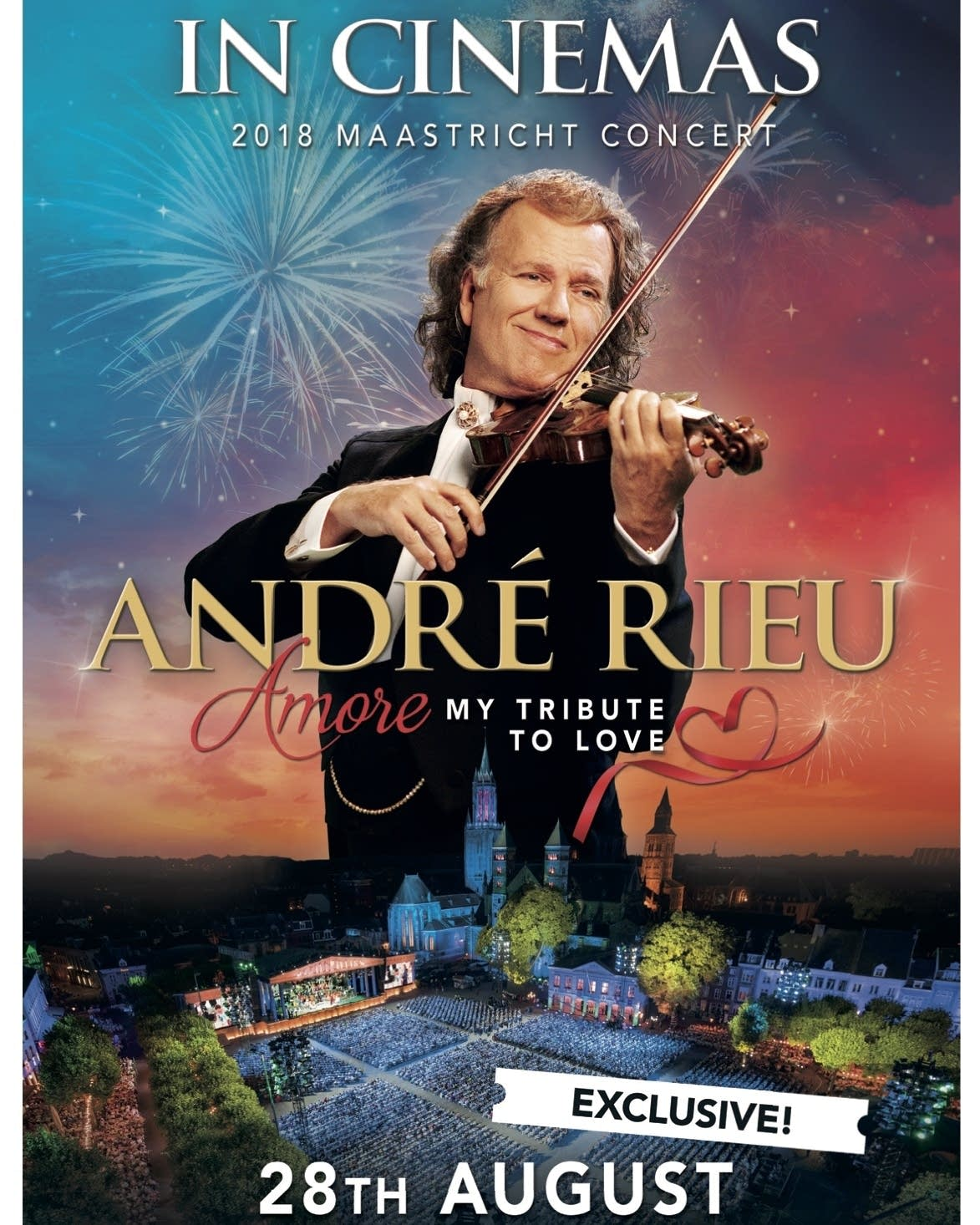 """Andre Rieu's """"Amore, My Tribute to Love"""""""