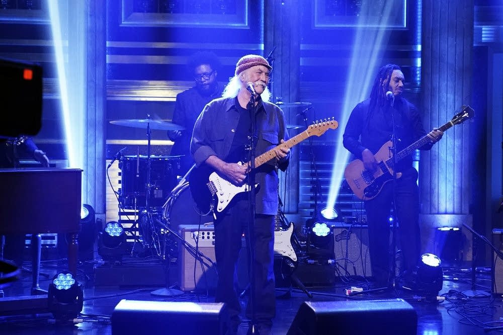 David Crosby performs on 'The Tonight Show Starring Jimmy Fallon'