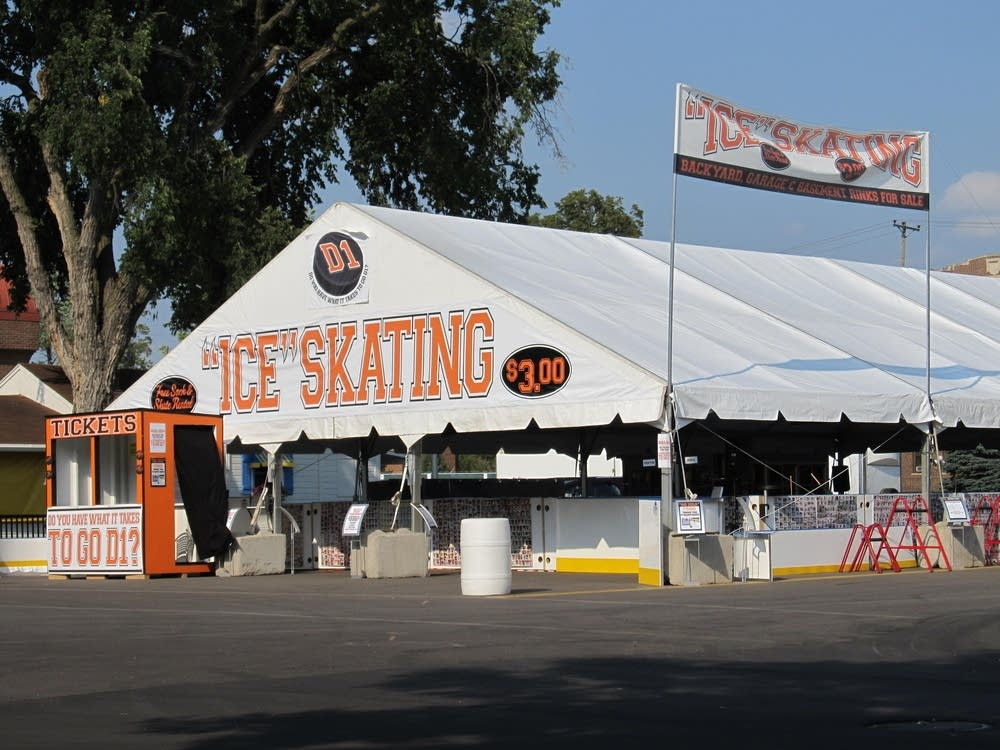 Fair goers will have the opportunity to go skating