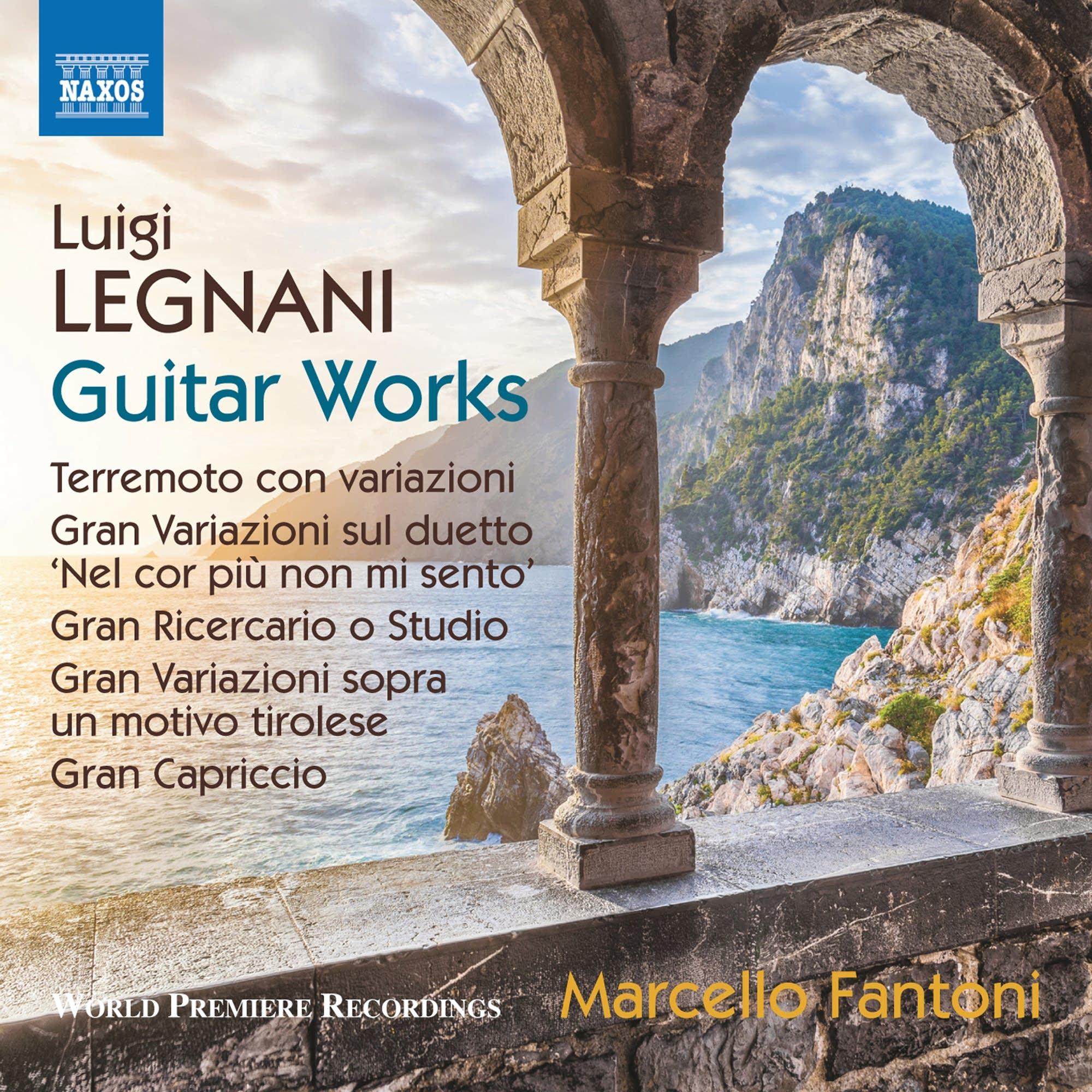 Luigi Legnani - Gran Ricercario o Studio