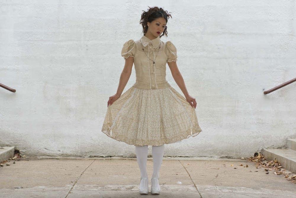 The sweet look of Victorian girlhood