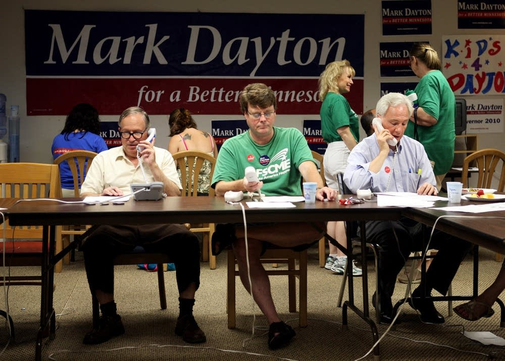Volunteering at Dayton headquarters