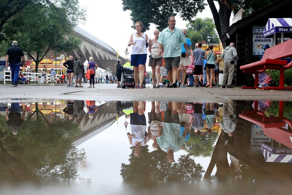A wet start to the 2014 State Fair