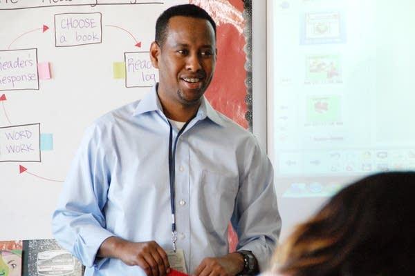 Abdiasis Hirsi teaches.
