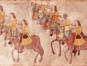 John Blanke, trumpeter in King Henry VII's court