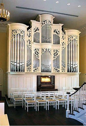 2000 Fritts organ at Princeton Theological Seminary, Princeton, NJ