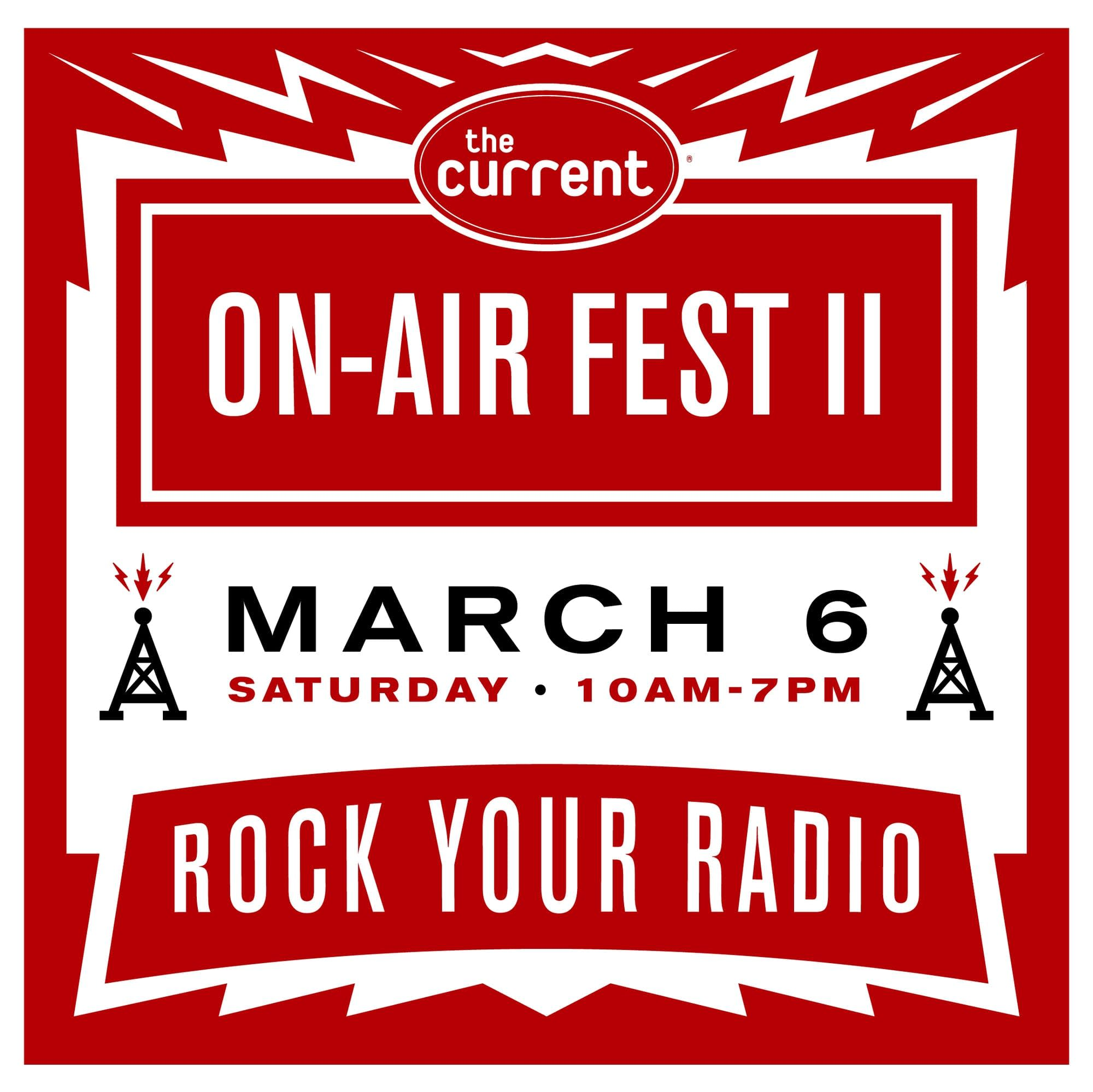 On-Air Fest 2 graphic 1080x1080 v2