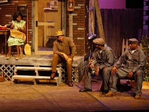 "Lake Superior Community Theatre's production of ""Fences"""
