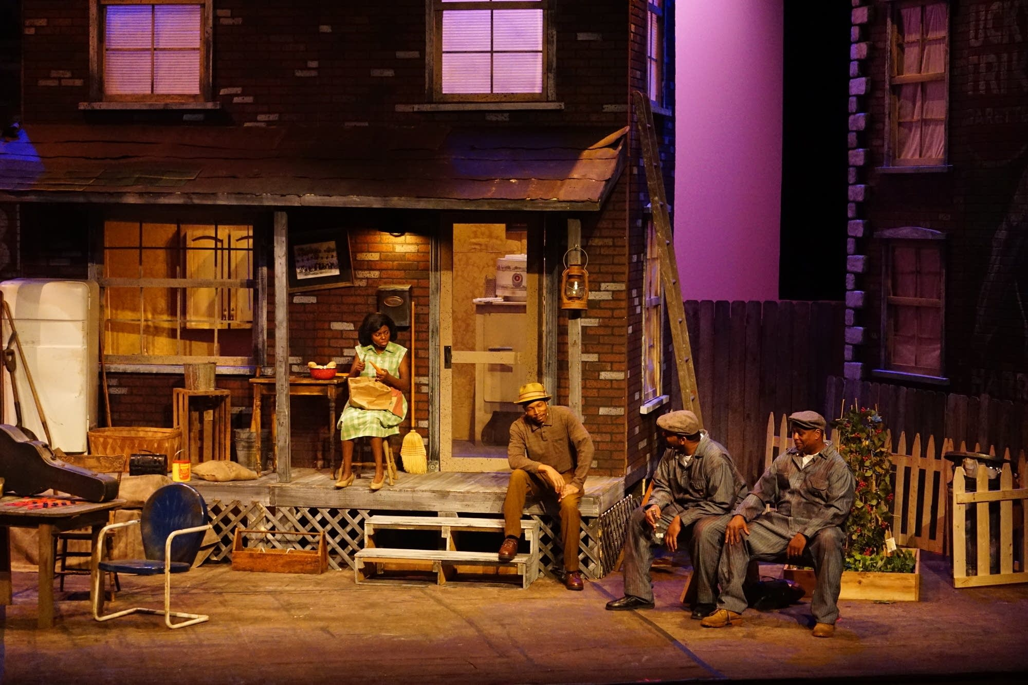 "Lake Superior Community Theatre's production of ""Fences"""