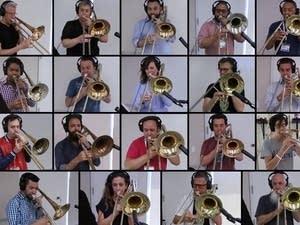 28 trombonists perform Queen's 'Bohemian Rhapsody'