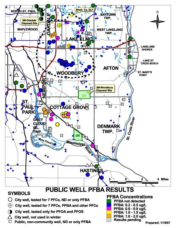 East metro contamination