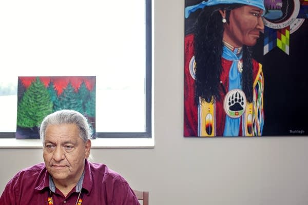 Terry Tibbetts, White Earth Nation Chairman