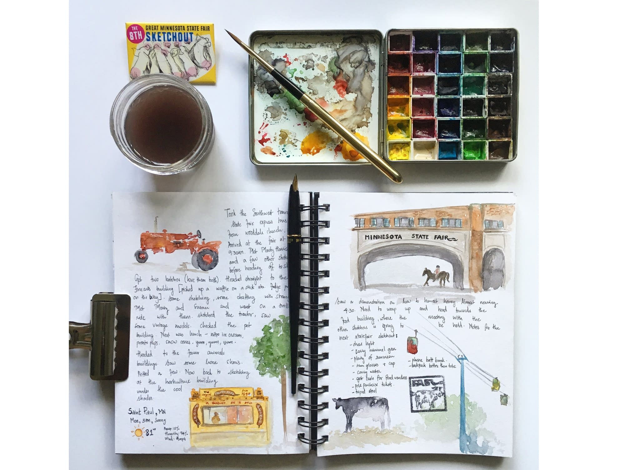 Archana Shankari's sketch journal
