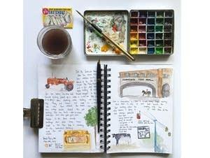 Archana Shankari's sketch journal