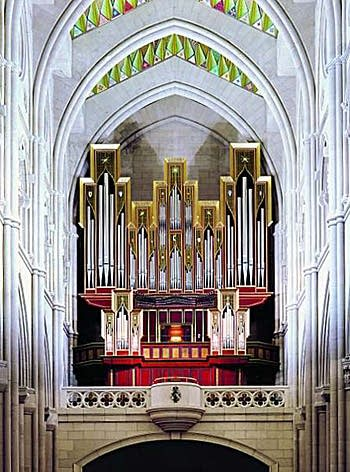 1999 Grenzing organ at the Cathedral of Our Lady of Almudena, Madrid, Spain