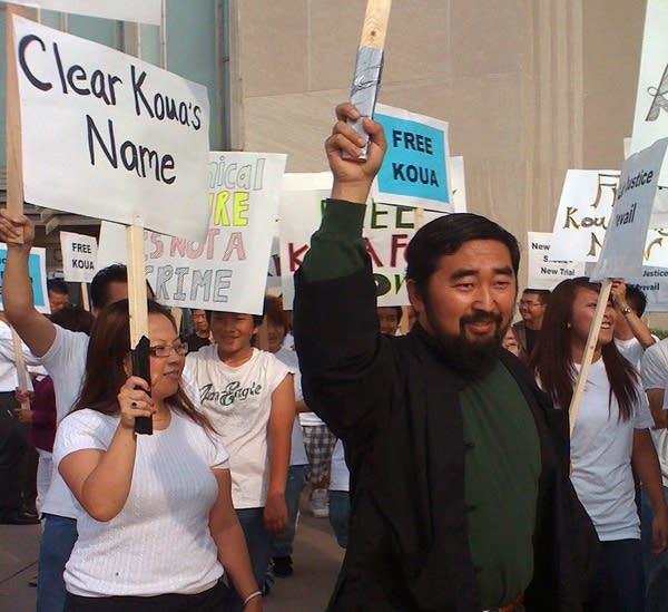 Koua Fong Lee rally