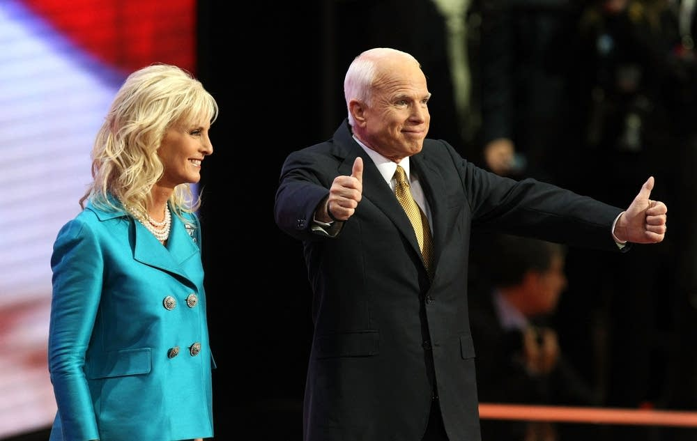 John McCain accepts the nomination