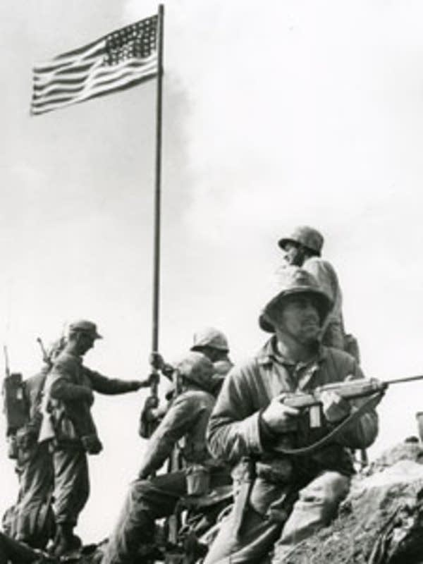 First flag raising