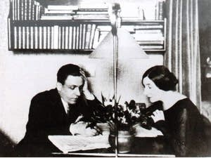 Francis Poulenc and Wanda Landowska