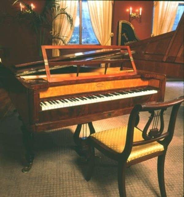 Kisting fortepiano