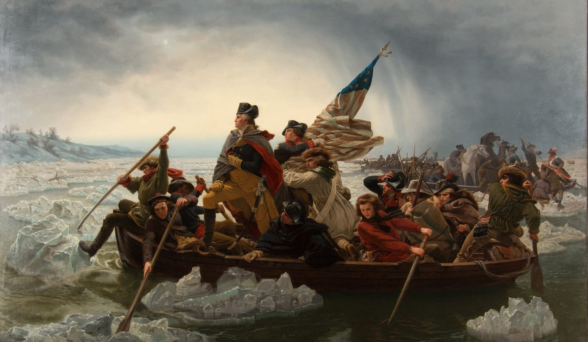 'Washington Crossing the Delaware'