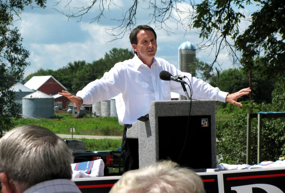 Pawlenty in Waverly, Iowa