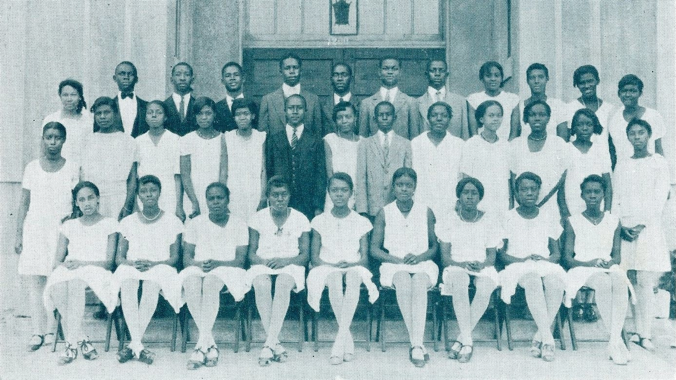 Booker T. Washington Freshman Class of 1930.